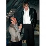 Peter Slater as Alan and Mark E. Smith as Jesus - IDEAL series 3