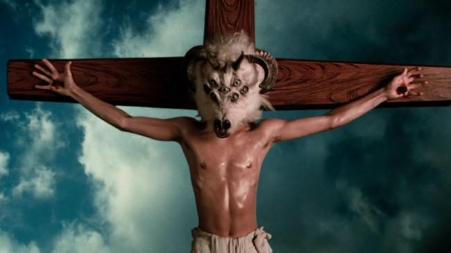 Goat on Cross - Hallucinations