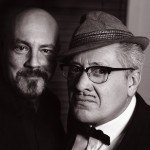 Graham Duff and Count Arthur Strong - Photo by Andy Hollingworth